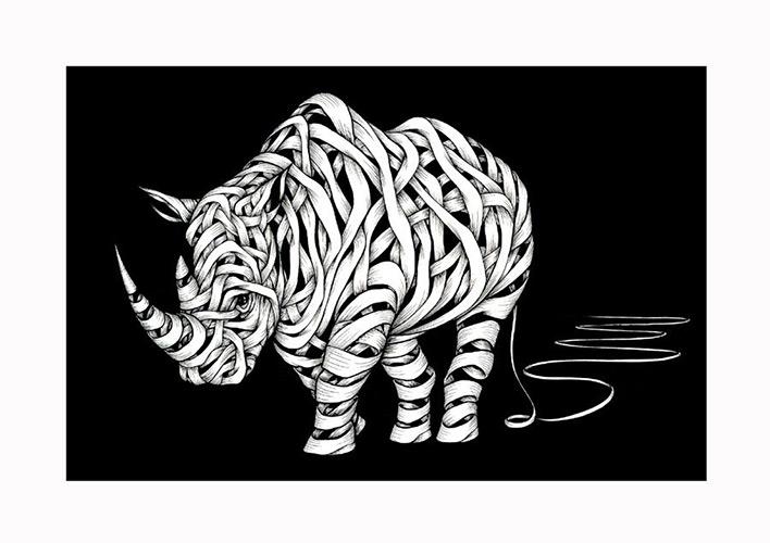 Otto Schade - Rhino Zero - 2016 - new at Ministry of Walls