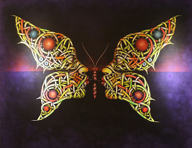 Otto Schade - Butterfly Kiss - 2014 - new at Ministry of Walls