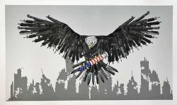 Otto Schade Who´s next - 2017 - Giclee archival pigment print - Edition 50 - 60x37cm - 24x15 inch - Ministry Of Walls Streetart Gallery -The Urban Art Broker shop