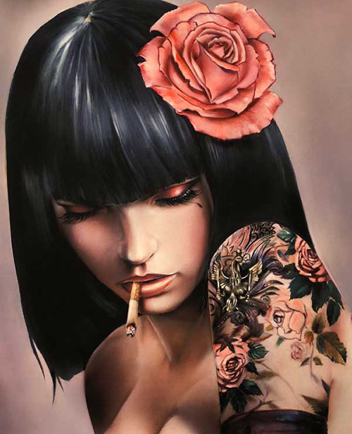 Brain M Viveros violet - buy at the Ministry of Walls Street Art Gallery Shop