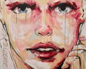 El Bocho - Color my City - 2019 - Acryl on Canvas - 100 cm x 150 cm - 39 inch x 59 inch - Ministry of Walls Street Art Gallery - The Urban Art Broker