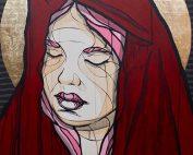 El Bocho - Untitled - Acrylics on Canvas - 100 cm x 80 cm - 39 inch x 31 inch - Ministry of Walls Street Art Gallery - The Urban Art Broker - Shop